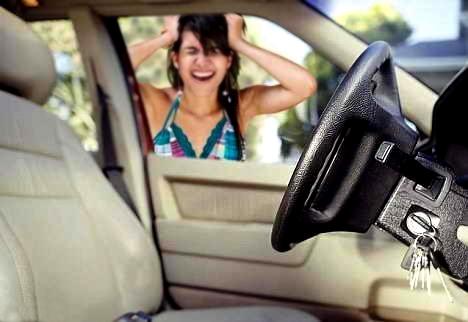 как открыть дверь машины если ключи остались внутри лада гранта